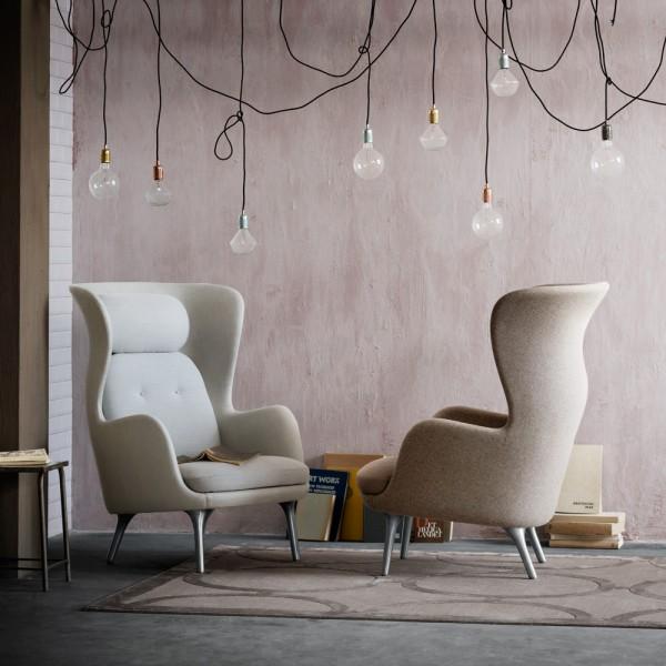 ro sessel von fritz hansen stoll online shop. Black Bedroom Furniture Sets. Home Design Ideas