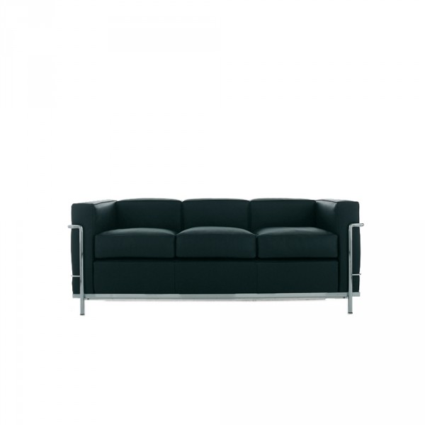 lc2 sofa 3 sitzer von cassina stoll online shop. Black Bedroom Furniture Sets. Home Design Ideas