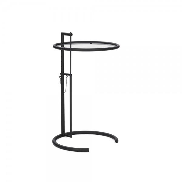 adjustable table back in black beistelltisch von classicon. Black Bedroom Furniture Sets. Home Design Ideas