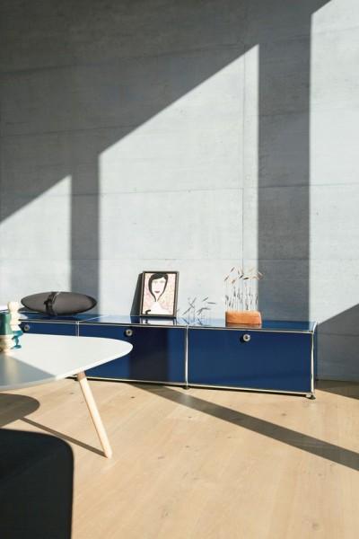 lowboard breit von usm haller stoll online shop. Black Bedroom Furniture Sets. Home Design Ideas