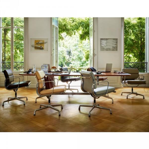 ea 208 soft pad chair konferenzsessel von vitra stoll. Black Bedroom Furniture Sets. Home Design Ideas