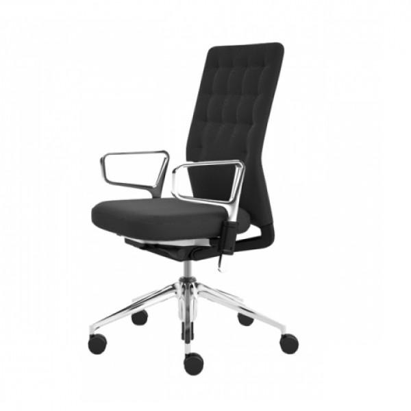 b rodrehstuhl id trim gestell alu poliert stoll online shop. Black Bedroom Furniture Sets. Home Design Ideas