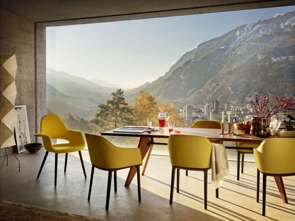 softshell chair stuhl von vitra stoll online shop. Black Bedroom Furniture Sets. Home Design Ideas