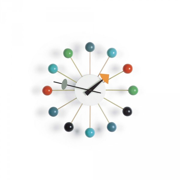 die uhr ball clock von vitra stoll online shop. Black Bedroom Furniture Sets. Home Design Ideas