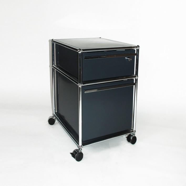 Rollcontainer Design rollcontainer grau usm möbelbausysteme design gebraucht