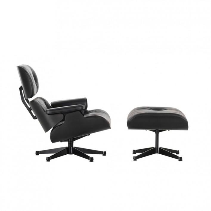 lounge chair black sessel von vitra stoll online shop. Black Bedroom Furniture Sets. Home Design Ideas