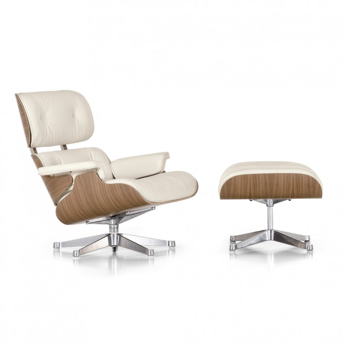lounge chair sessel white von vitra stoll online shop. Black Bedroom Furniture Sets. Home Design Ideas