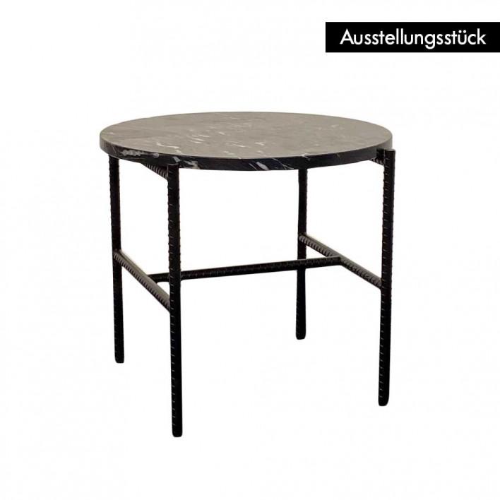 Rebar Side Table Marmor - Ausstellungsstück