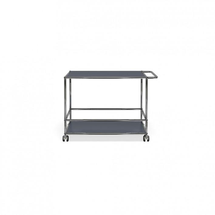 servierwagen von usm haller m belbausysteme stoll online shop. Black Bedroom Furniture Sets. Home Design Ideas