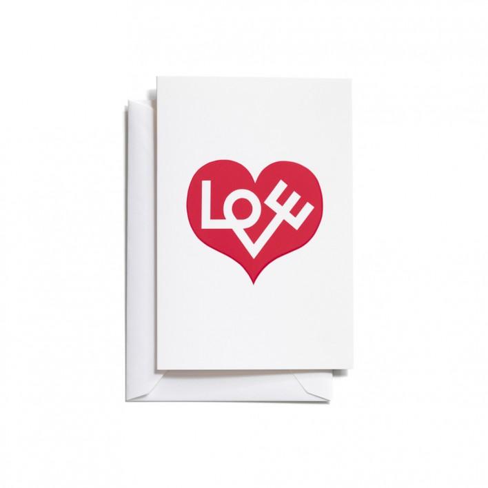 "Greeting Card ""Love Heart"""