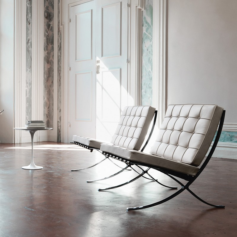 Knoll International Ludwig Mies Van Der Rohe Barcelona Chair Stoll