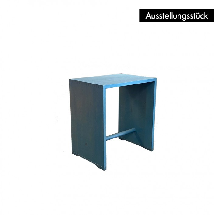 Ulmer Hocker himmelblau - Ausstellungsstück