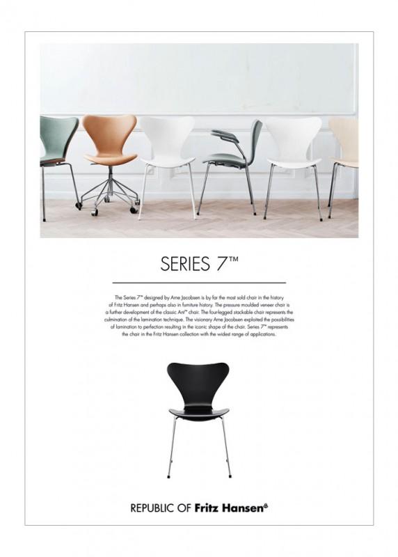 Fritz Hansen Stuhl 3107 Arne Jacobsen Stoll Online Shop