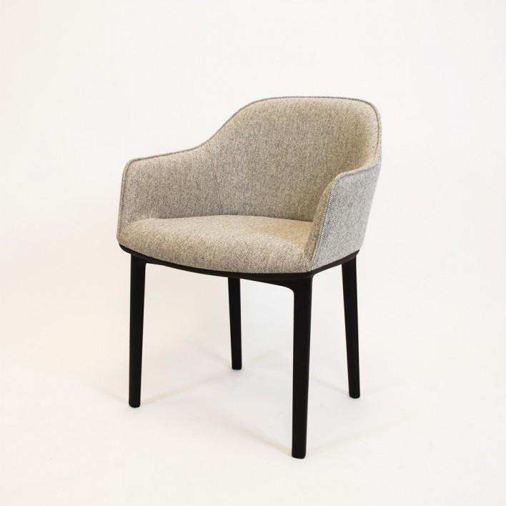 softshell chair stuhl von vitra ausstellungsst ck. Black Bedroom Furniture Sets. Home Design Ideas