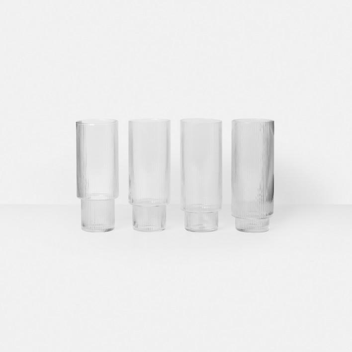 Ripple Long Drink Gläser