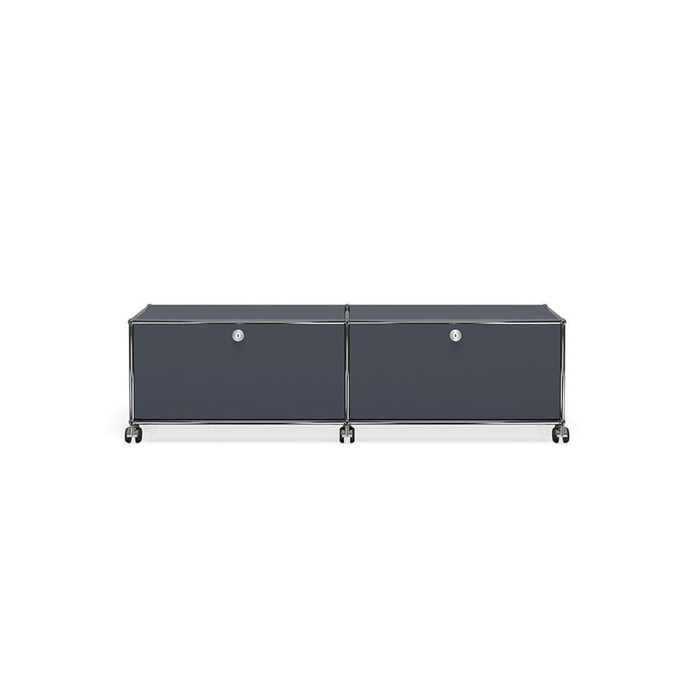 tv hi fi m bel breit von usm haller m belbausysteme stoll online shop. Black Bedroom Furniture Sets. Home Design Ideas