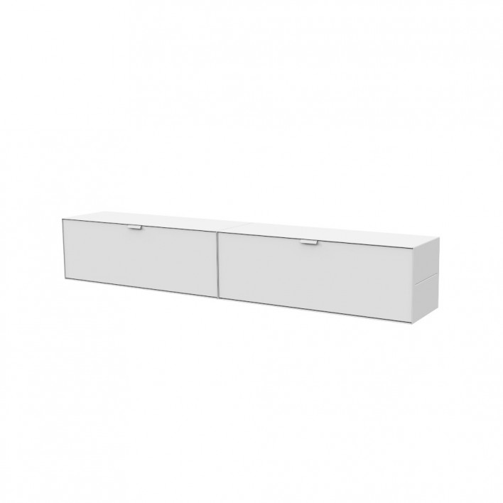 Sideboard Wandhängend system m lowboard wandhängend von s+ systemmöbel | stoll online shop