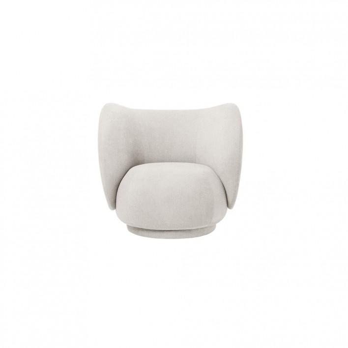 RIco Lounge Chair Boucle