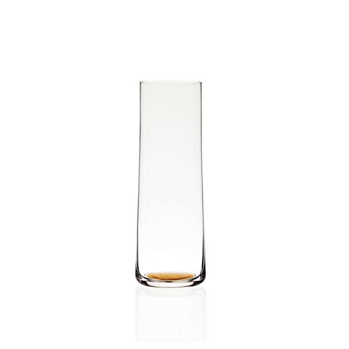 Colour Glass Karaffe Gold Dot