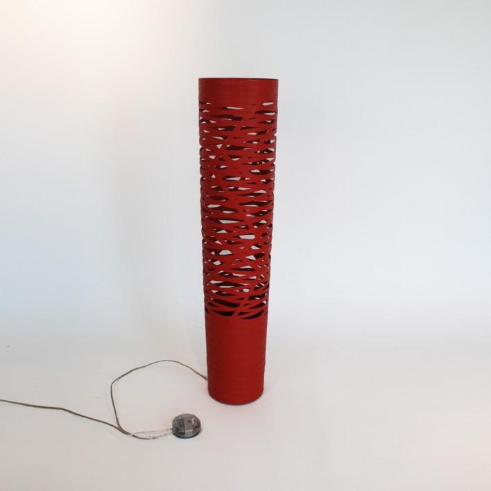 Tress Media rot - Ausstellungsstück