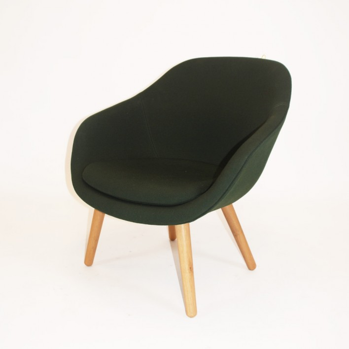 about a lounge chair sessel von hay ausstellungsst ck stoll online shop. Black Bedroom Furniture Sets. Home Design Ideas