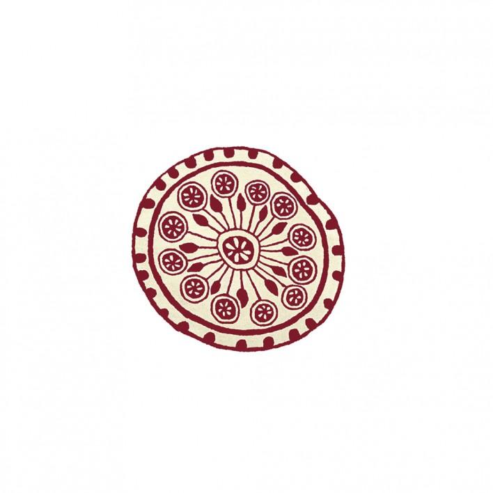 Teppich Rangoli