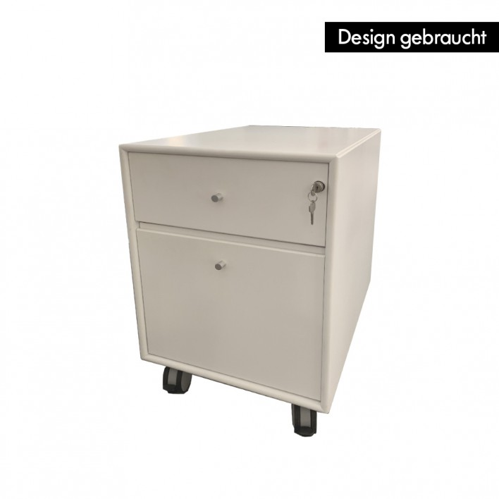 Rollcontainer new white - Design gebraucht
