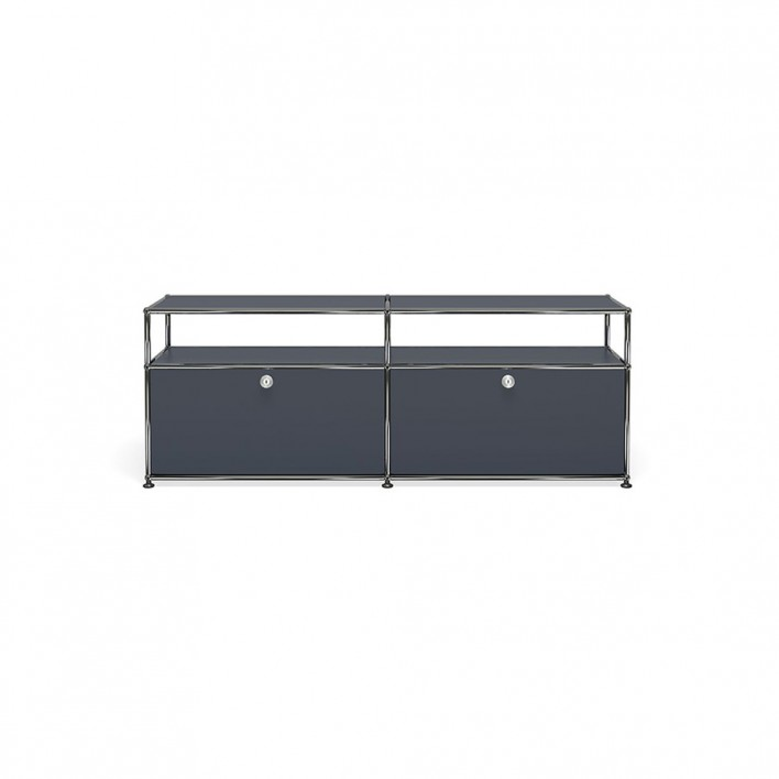 beistellm bel mit aufsatz von usm haller stoll online shop. Black Bedroom Furniture Sets. Home Design Ideas