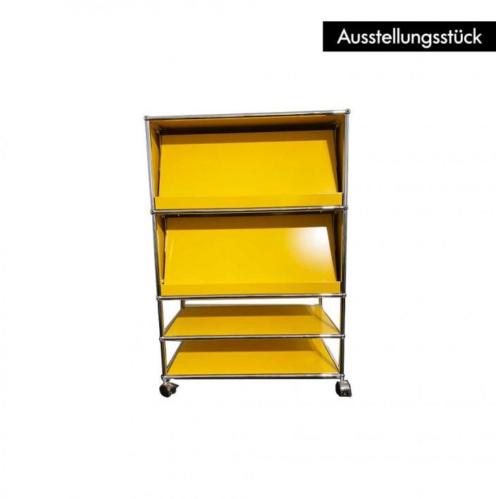 USM Prospektwagen gelb - Ausstellungsstück