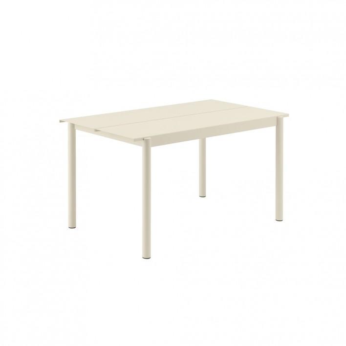 Linear Steel Tisch
