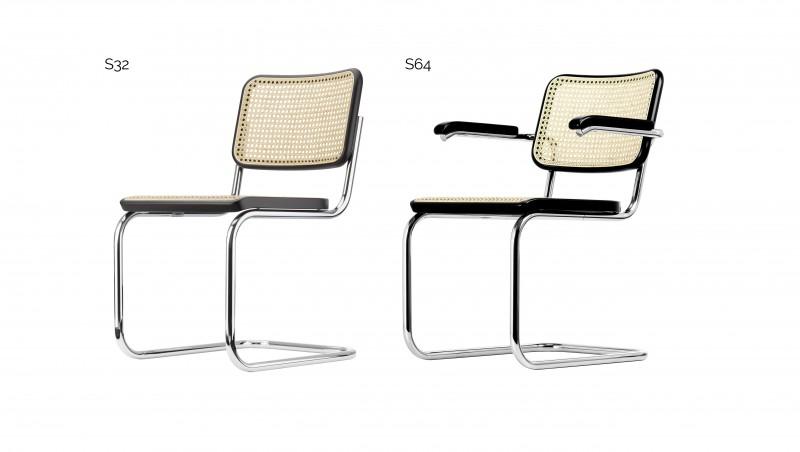 Entzuckend Der Stuhl S32/S64 Von Marcel Breuer