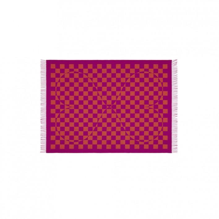 Decke Wool Blanket Double Heart