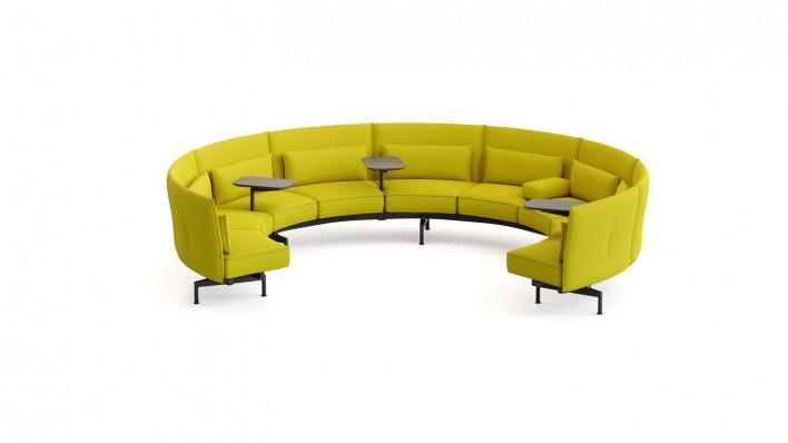 Soft Work Sofa 9-Sitzer Innenkreis