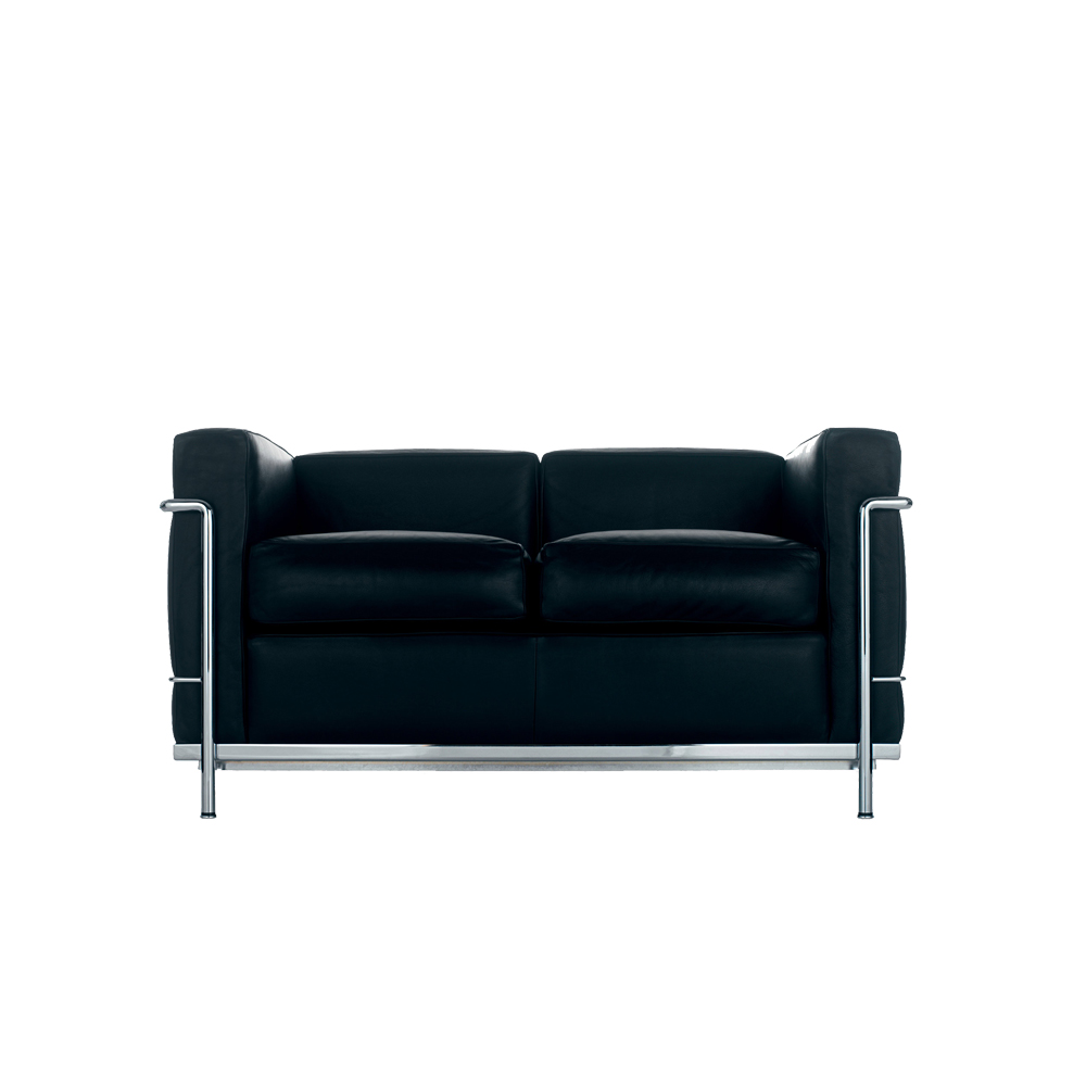 lc2 sofa 2 sitzer von cassina stoll online shop. Black Bedroom Furniture Sets. Home Design Ideas