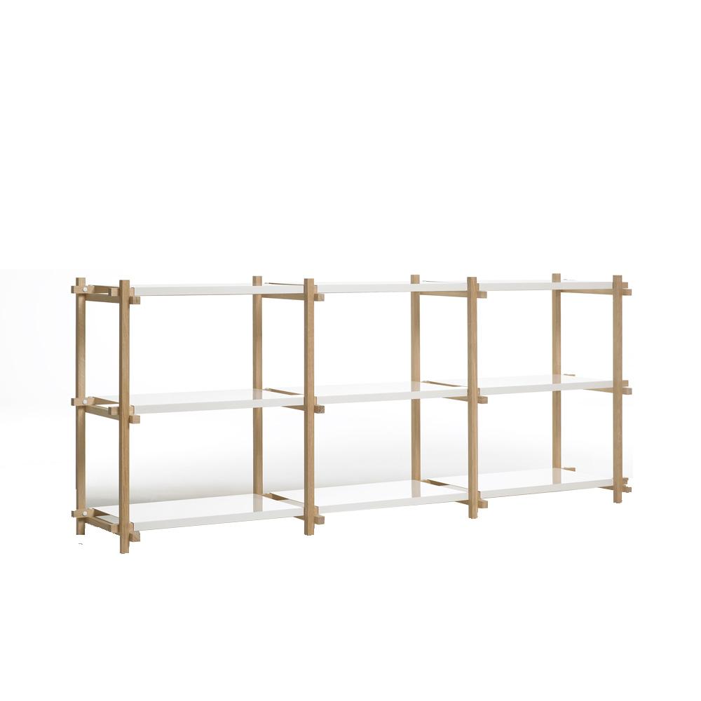 woody low sideboard von hay stoll online shop. Black Bedroom Furniture Sets. Home Design Ideas