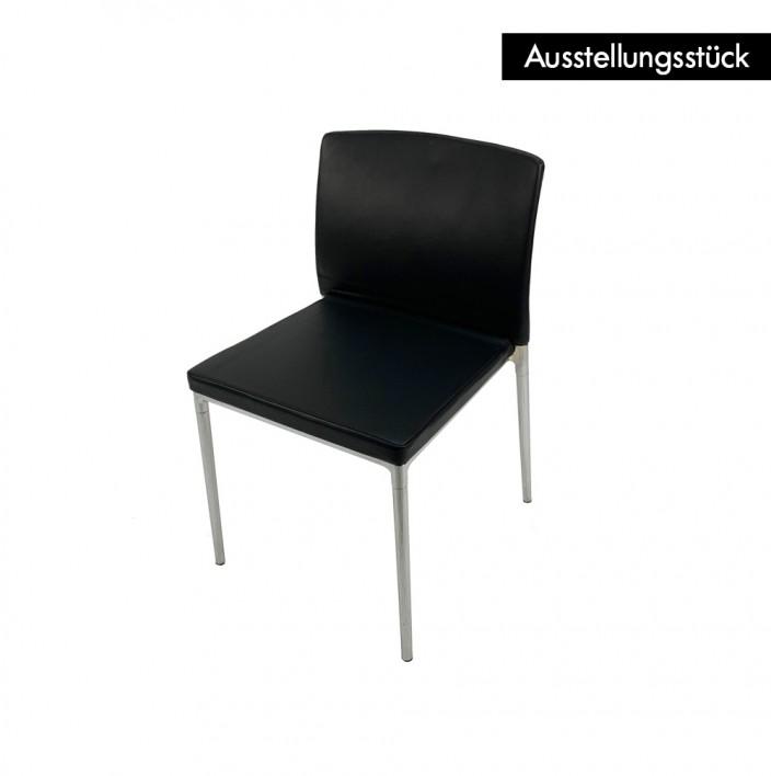Ceno Stuhl Leder ohne Armlehnen - Ausstellungsstück