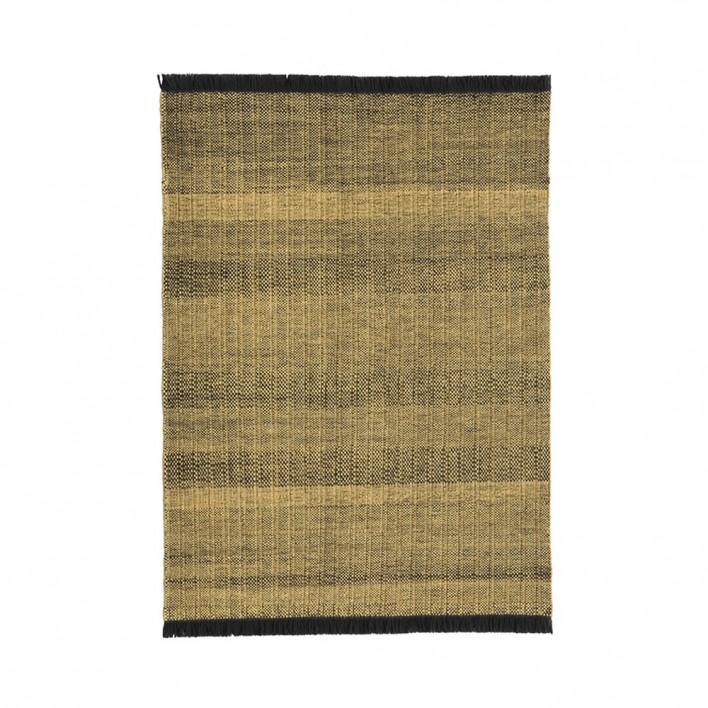 Teppich Tres Texture Gold