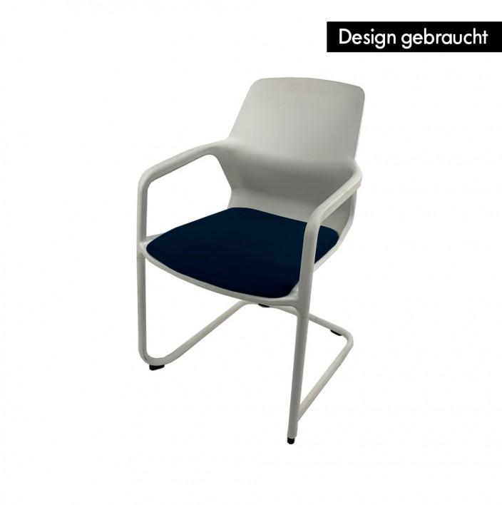 Metrik 186/3 Freischwinger - Design gebraucht