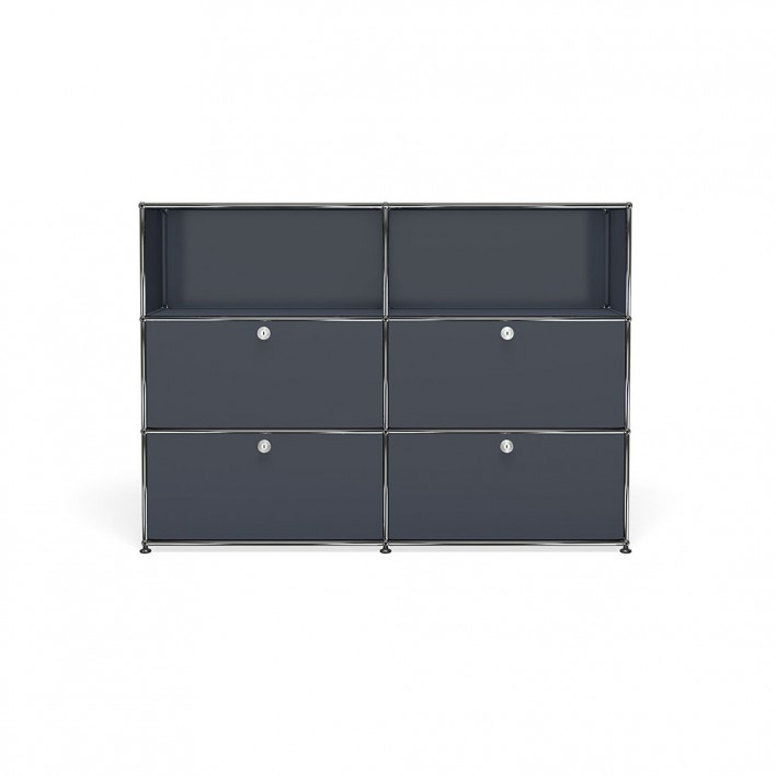 highboard breit von usm haller m belbausysteme stoll online shop. Black Bedroom Furniture Sets. Home Design Ideas