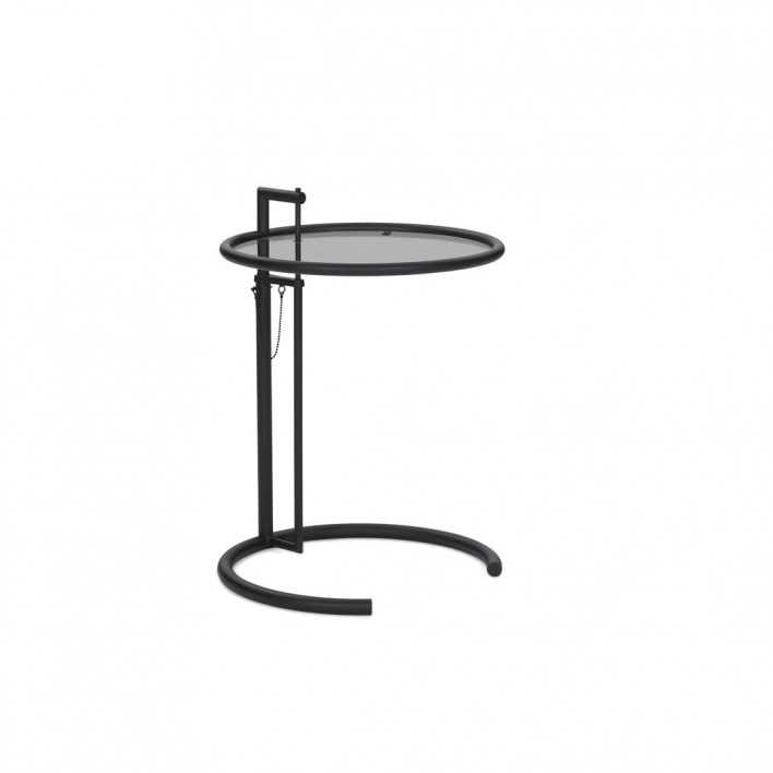 Adjustable Table back in black