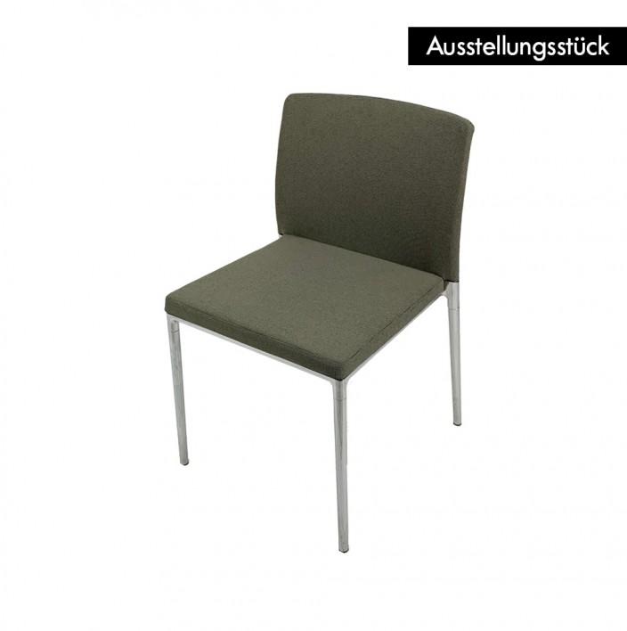 Ceno Stuhl Stoff ohne Armlehnen - Ausstellungsstück
