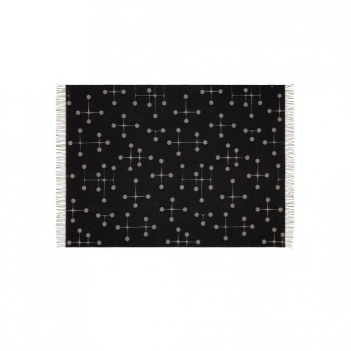 Decke Wool Blanket Dot Pattern