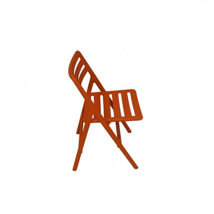 Folding Air Chair orange - Ausstellungsstück