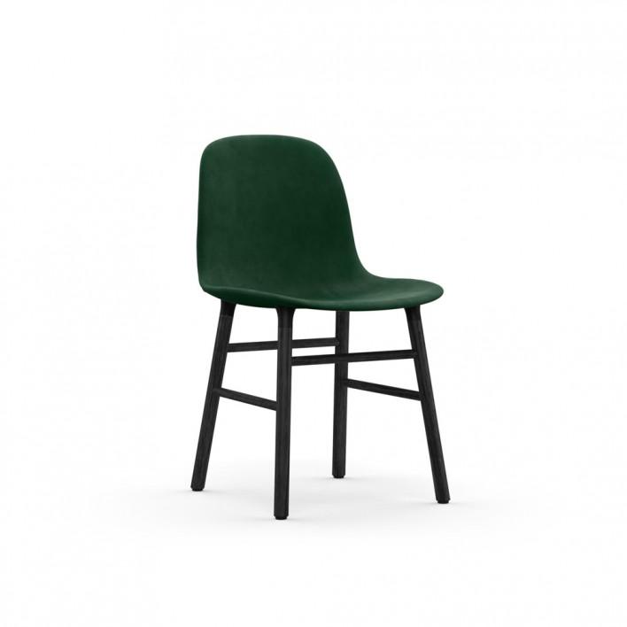 Form Chair Wood gepolstert
