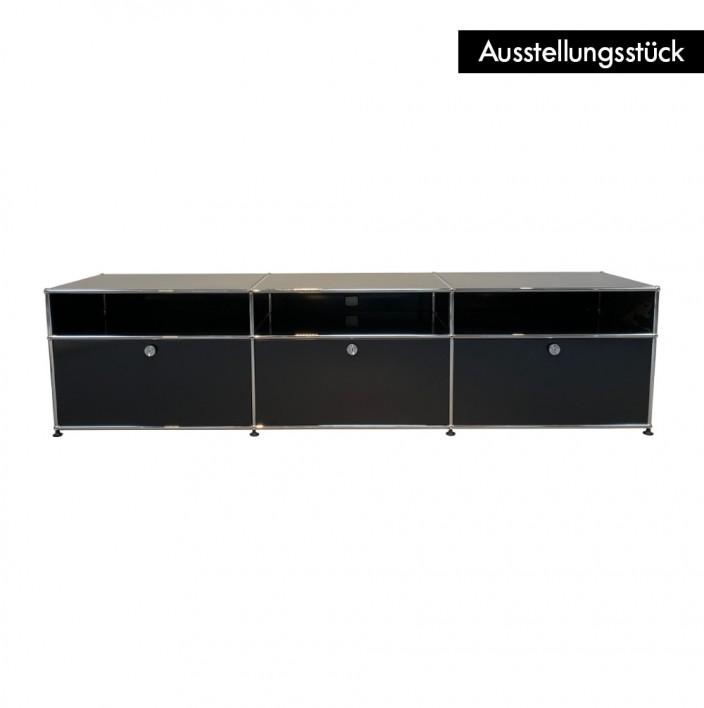 Lowboard schwarz - Ausstellungsstück