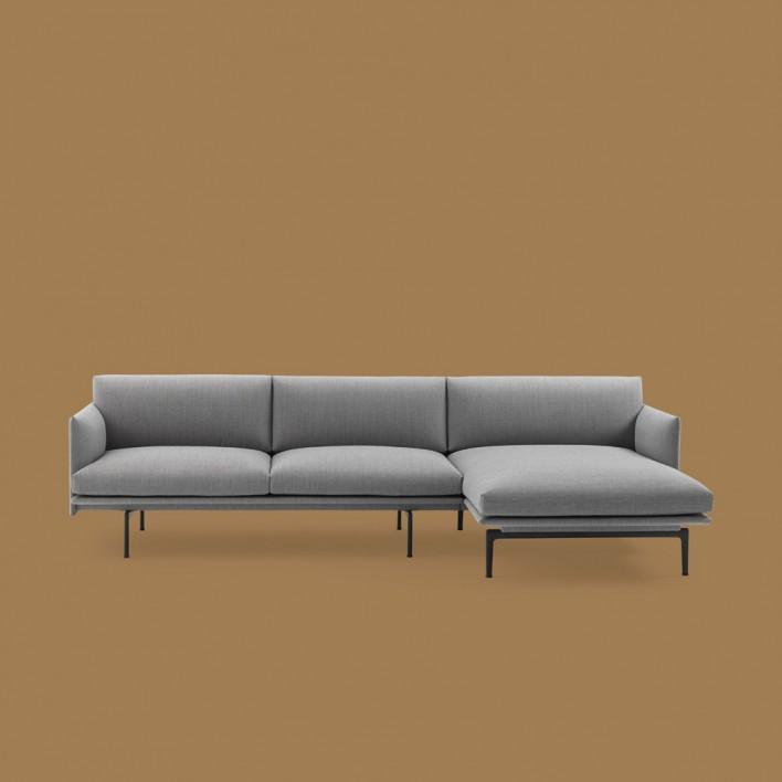 Outline Sofa Chaiselongue