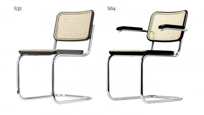 Der Stuhl S32/S64 Von Marcel Breuer