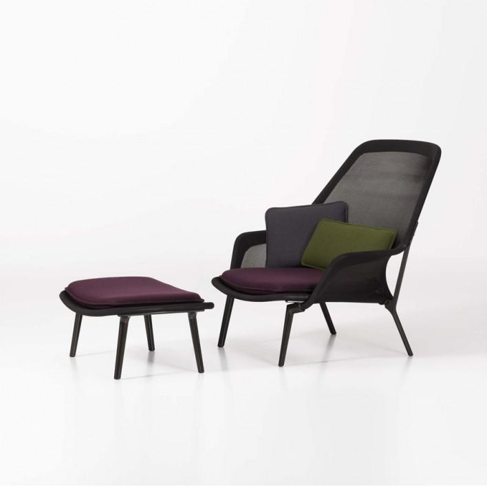 Slow Chair mit Ottoman